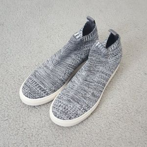 Mossimo wedge athletic shoes in a grey blue